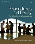 PROCEDURES & THEORY FOR ADMIN PROF (W/OUT WEBTUTOR ACCES