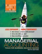 MANAGERIAL ACCOUNTING (LOOSE PGS)